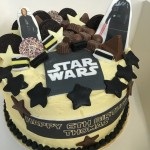 Star Wars Crazy Cake